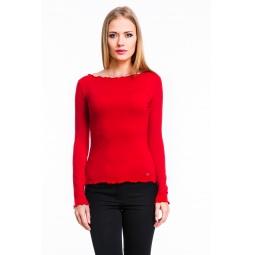 фото Кофта Mondigo 1470. Цвет: красный. Размер одежды: 42