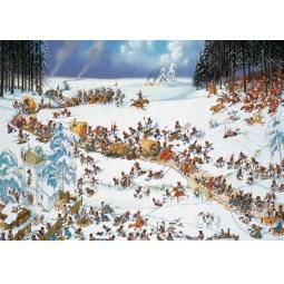 Купить Пазл 2000 элементов Heye «Отступление Наполеона»