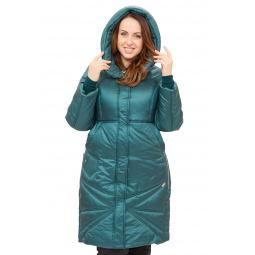 Купить Пальто D`imma «Адела». Цвет: зеленый