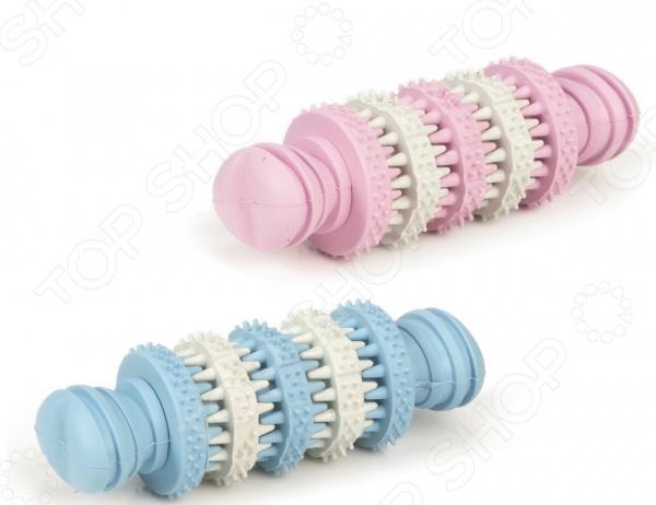 Игрушка для ухода за зубами собак с запахом мяты Beeztees Rolito «Кость». В ассортименте