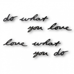 Купить Надпись декоративная настенная Umbra Do what you love