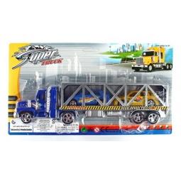 фото Набор машинок игрушечных S+S TOYS «Автовоз и 2 гоночные машины»