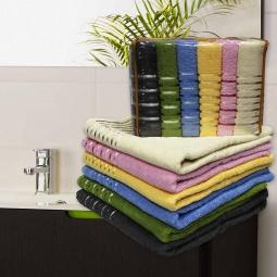 фото Комплект из 6-ти махровых полотенец Mariposa Neon Mix. Размер полотенца: 70х140 см