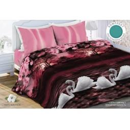 фото Комплект постельного белья Любимый дом «Лебединая верность». 1,5-спальный