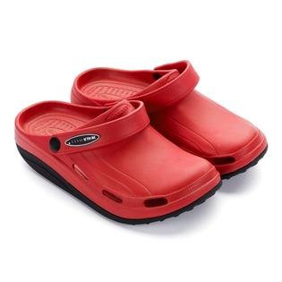 Купить Клоги Walkmaxx Fit 2.0. Цвет: красный, черный