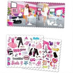 Купить Набор с наклейками Fashion Angels Barbie