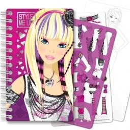 Купить Блокнот с трафаретами Style Me Up! 1418