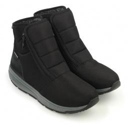Купить Ботинки зимние адаптивные мужские Walkmaxx. Цвет: черный