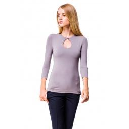 фото Кофта Mondigo 6022. Цвет: серый. Размер одежды: 44