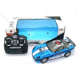 фото Машина на радиоуправлении Shantou Gepai 210. Цвет: голубой, белый