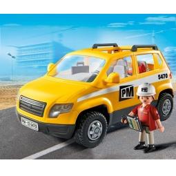 Купить Конструктор игровой Playmobil «Стройка: Автомобиль начальника участка»