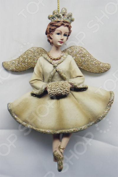 Елочное украшение-подвеска Crystal Deco «Ангел» 1707816