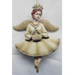 фото Елочное украшение-подвеска Crystal Deco «Ангел» 1707816