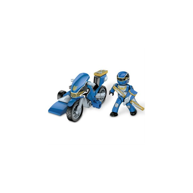 фото Фигурка к конструктору Mega Bloks Могучие рейнджеры на мотоцикле. В ассортименте