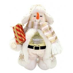 фото Игрушка новогодняя Новогодняя сказка «Снеговик» 949193