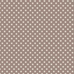 фото Отрез ткани Tilda Звезды. Цвет: коричневый
