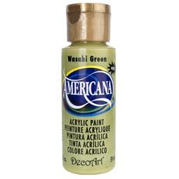 фото Краска акриловая DecoArt Премиум Americana. Цвет: зеленый васаби