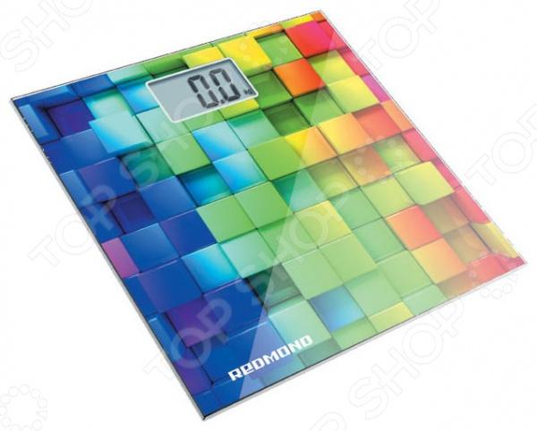 Весы Redmond RS-708. Рисунок: кубики