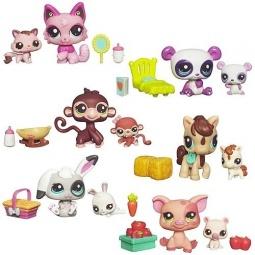 фото Набор игровой для девочек Littlest Pet Shop Мама и малышка. В ассортименте