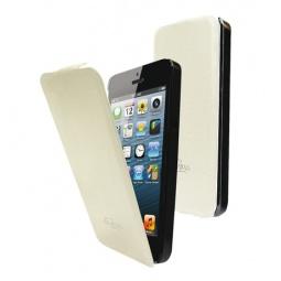 фото Чехол LaZarr Flip Case для Apple iPhone 5. Цвет: белый