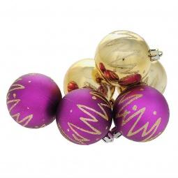 фото Набор новогодних шаров Феникс-Презент 35519