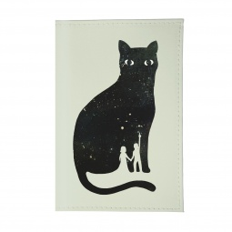 фото Обложка для паспорта Mitya Veselkov «Космическая кошка»