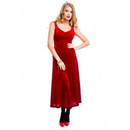 фото Платье Mondigo 7017. Цвет: бордовый