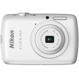 фото Фотокамера цифровая Nikon Coolpix S01. Цвет: белый