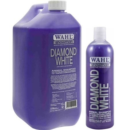 Купить Шампунь для животных светлых окрасов Moser Wahl Diamond White