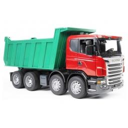 фото Самосвал игрушечный Bruder Scania