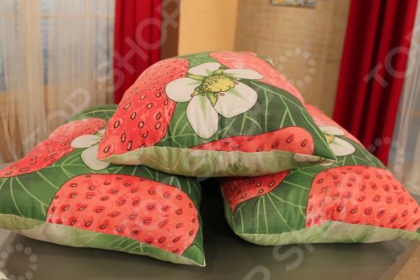 фото Комплект подушек Матекс Земляничная поляна, Классические подушки