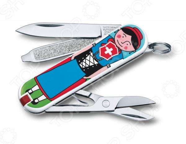 Нож перочинный Victorinox Classic Appenzeller 0.6223.L1401