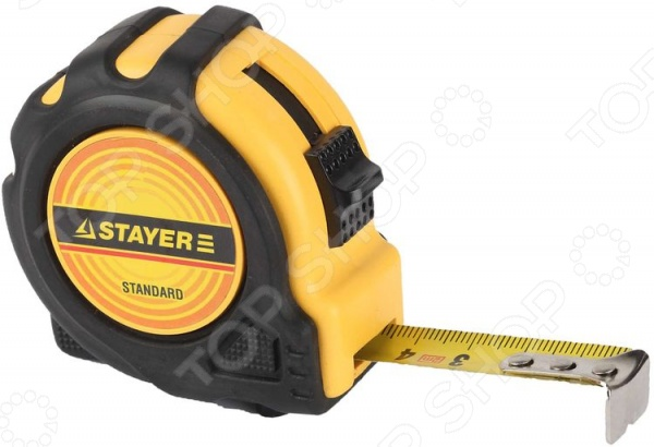 Рулетка Stayer Standard TopTape 34025
