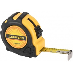 фото Рулетка Stayer Standard TopTape 34025. Ширина: 25 мм. Длина: 7,5 м