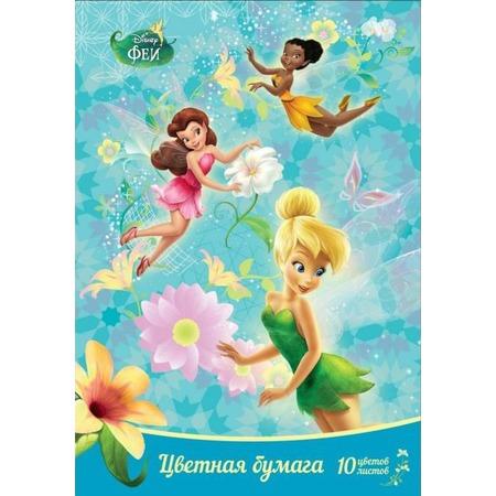 Купить Набор бумаги цветной Росмэн «Феи» 25427