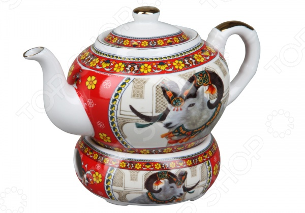 Чайник заварочный Rosenberg 8063Чайники заварочные<br>Чайник заварочный Rosenberg 8063 - стильный и оригинальный чайник, который идеально подойдет, как для ежедневного использования, так и для сервировки праздничного стола. Этот чайник станет настоящим открытием для истинных поклонников этого благородного напитка. С его помощью вы сможете полностью раскрыть вкус чая, позволив каждой чаинке отдать свой вкус, цвет и аромат. Чайник оснащен специальной емкостью для подогрева, которая позволит сохранять заварку теплой. Изделие выполнено из керамики, которая способна стойко выдерживать высокие температуры. Корпус чайника украшен ярким дизайнерским рисунком, который надолго сохранит свои насыщенные цвета. Стильный дизайн изделия только дополнит ваш кухонный интерьер и привнесет в него немного игривого настроения. Насладитесь насыщенным и неповторимым вкусом вашего любимого чая с заварочным чайником Rosenberg 8063!<br>