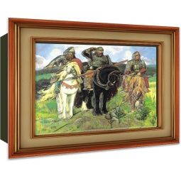 Купить Постер объемный Vizzle Три богатыря