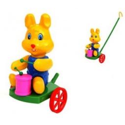 Купить Каталка для малыша Suchanek «Кролик с барабаном»