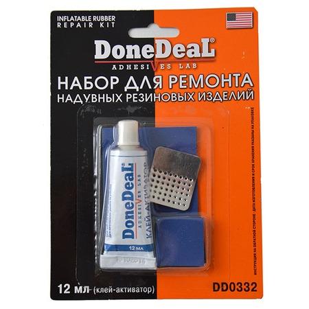 Купить Набор для ремонта камер и надувных резиновых изделий Done Deal DD 0332
