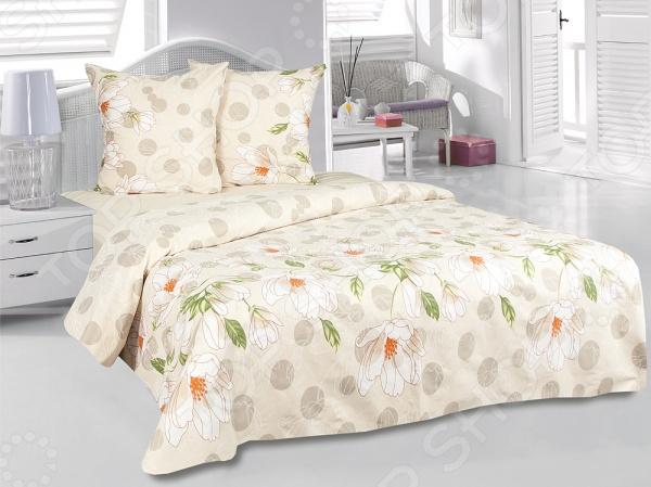 Комплект постельного белья Tete-a-Tete «Аврора». 1,5-спальный1,5-спальные<br>Комплект постельного белья Tete-a-Tete Аврора это постельное белье нового поколения , предназначенное для молодых и современных людей, желающих создать модный интерьер спальни и сделать быт более комфортным. Белье изготовлено из нежной бязи, что гарантирует здоровый и спокойный сон в любое время года, ведь этот материал обладает отличными дышащими , впитывающими и гигиеническими свойствами. При изготовлении постельного белья Tete-a-Tete используются устойчивые гипоаллергенные красители. Комплект постельного белья Tete-a-Tete Аврора очень легок в уходе. Вам не доставит хлопот его постирать, высушить и погладить. Белье не выцветает и не деформируется даже после 500 стирок. Плотность ткани составляет 140 г м2.<br>