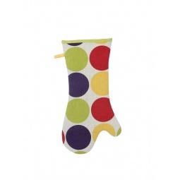 фото Прихватка-перчатка длинная Dexam «Круги»