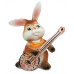 Купить Фигурка декоративная Elan Gallery Зайка-гитарист