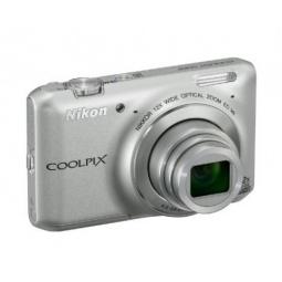 фото Фотокамера цифровая Nikon CoolPix S6400. Цвет: серебристый