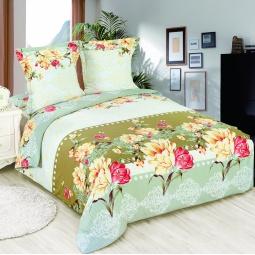 фото Комплект постельного белья Amore Mio Dekor. Poplin. 1,5-спальный