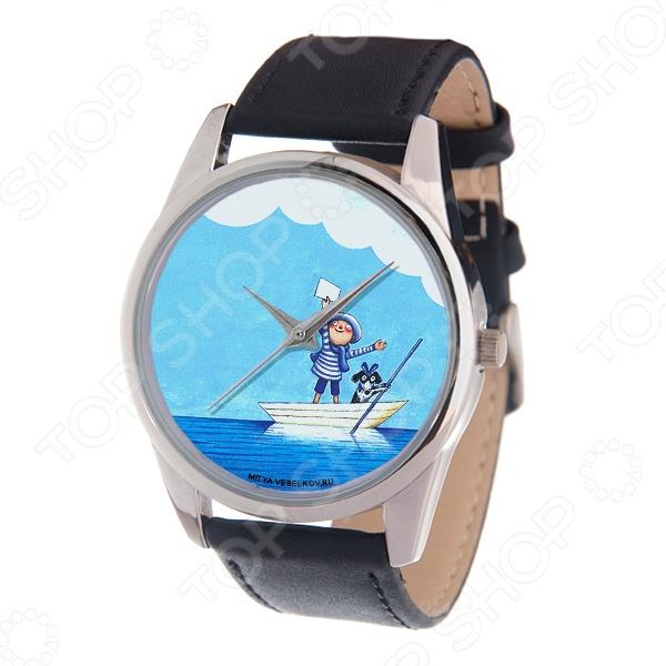 Часы наручные Mitya Veselkov «Мальчик и собака в лодке» MV