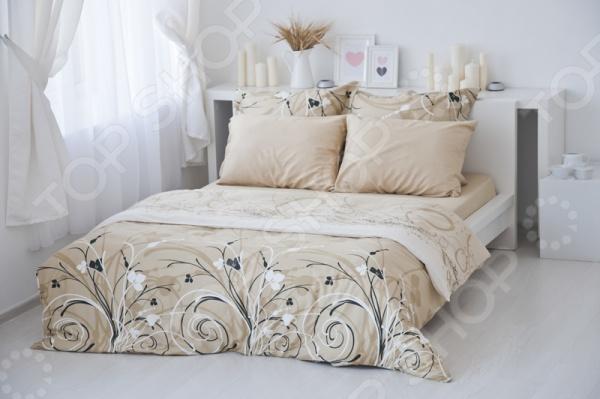 Комплект постельного белья Tete-a-Tete «Сон». 2-спальный2-спальные<br>Комплект постельного белья Tete-a-Tete Сон это комплект постельного белья нового поколения , предназначенного для молодых и современных людей, желающих создать модный интерьер спальни и сделать быт более комфортным. Белье из великолепной сатиновой ткани станет украшением любой спальни. Все предметы комплекта выполнены по цельнокроеной технологии. Наволочки имеют клапан без пуговиц и молнии. При изготовлении постельного белья Tete-a-Tete используются устойчивые гипоаллергенные красители. Основой для ткани служит натуральный хлопок. Специальный станок изготавливает из тонкой пряжи прочные и гладкие нити атласного переплетения. Ткань, сделанную таким образом, легко узнать по ее особому блеску, мягкости и гладкости. Пошив, происходящий на автоматической линии, гарантирует, что размер белья будет строго соблюдаться. Благодаря уникальным потребительским свойствам, белье не теряет цвет и не садится во время стирки, а на ткани не образуются катышки . Комплект постельного белья Tete-a-Tete Сон упакован в подарочную коробку, поэтому может стать отличным подарком для друзей, родных и близких. Рекомендации по уходу: стирайте изделия из комплекта, предварительно вывернув их наизнанку при температуре до 40 С, c использованием современных высокотехнологичных порошков, щадящих отбеливателей без хлора и мягких кондиционеров. При необходимости, добавляйте смягчители для воды. Режим отжима и сушки щадящий.<br>