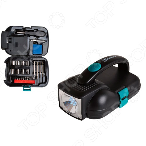 Набор инструментов с фонарем Komfort KF-1013 набор инструментов koruda kr tk45