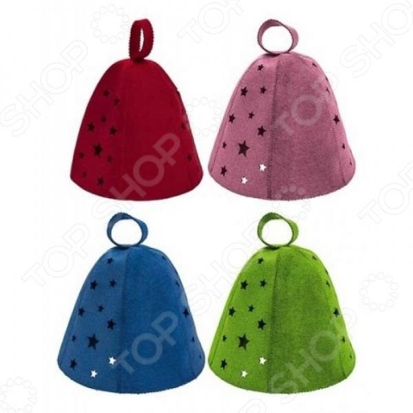 Шапка для бани и сауны Банные штучки «Звезды» шапка для бани и сауны банные штучки листья 41139
