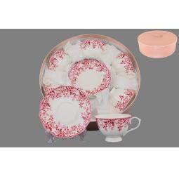 фото Чайный набор Elan Gallery «Цветочек розовый»