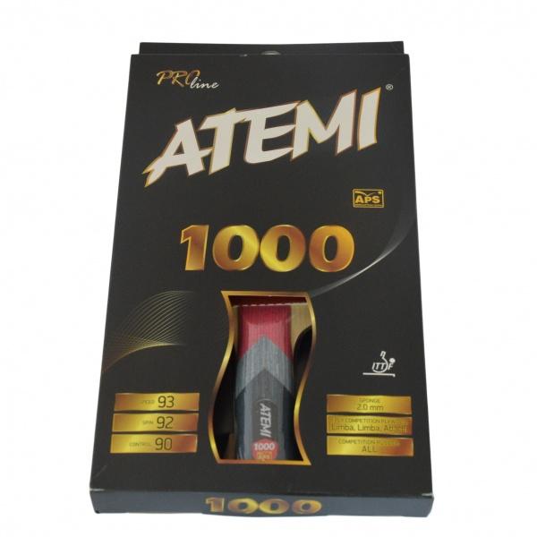 Ракетка для настольного тенниса ATEMI PRO 1000 ANРакетки для настольного тенниса<br>Ракетка для настольного тенниса ATEMI PRO 1000 AN предназначена для профессиональных игроков. Имеет анатомическую ручку, основание изготовлено из пяти слоев ценных пород древесины. Модель подходит как для тренировок, так и для соревнований различного уровня. При изготовлении использованы материалы высокого качества, что значительно увеличивает срок их службы.<br>